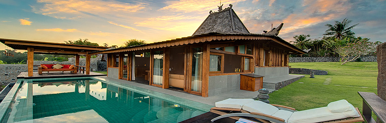 luxury villa rental in bali villa les rizieres. Black Bedroom Furniture Sets. Home Design Ideas